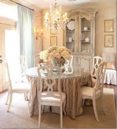 Chic Dining Rooms Shabby Chic Dining Room Decorating Ideas