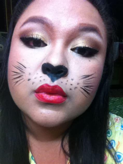 halloween makeup collaboration sexy cat animal theme