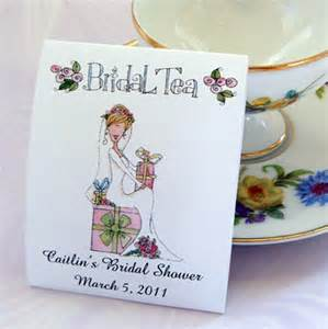 tea bridal shower favors bridal shower teabag favors bridal tea tea set of 25