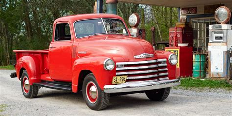 red christmas vintage pick ups for sale classic american trucks history of trucks