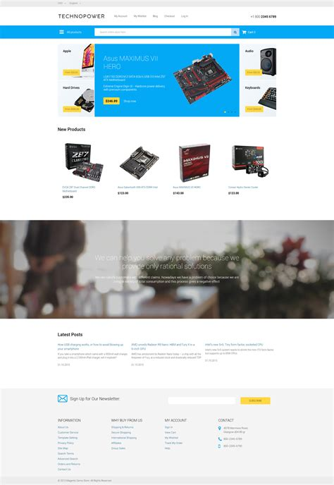 Magento Html Template 28 magento html template template 62281 magento themes topthemes 25 magento templates for