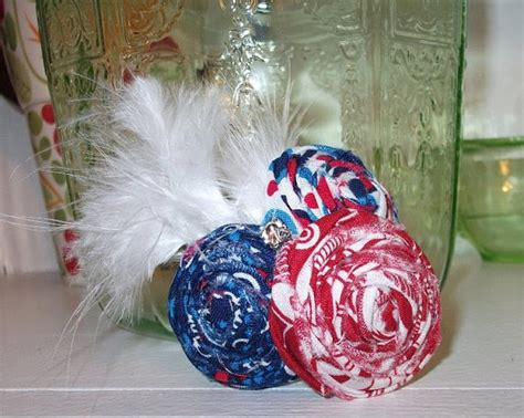 doodle hair bow i like big bows white and blue bows