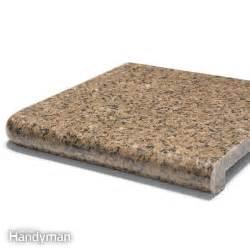 diy granite countertops the family handyman