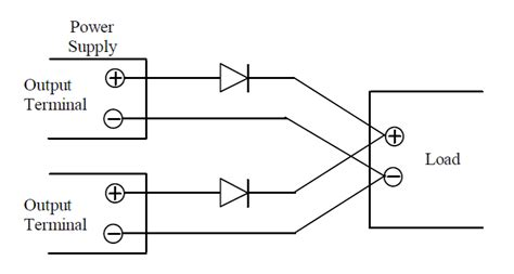 power supply without diode power topics for power supply users using droop mode current power supplies