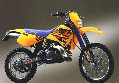 1989 Ktm 250 Exc Ktmaddict Fr 100 Ktm Les Fiches Techniques Moto