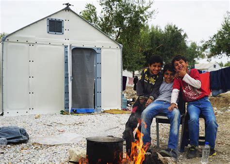 ikea syrian refugees ikea and better shelter are sending flat pack housing to