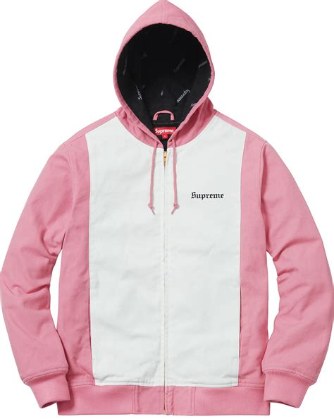 Jacket Parka 2 Tone supreme 2 tone hooded work jacket