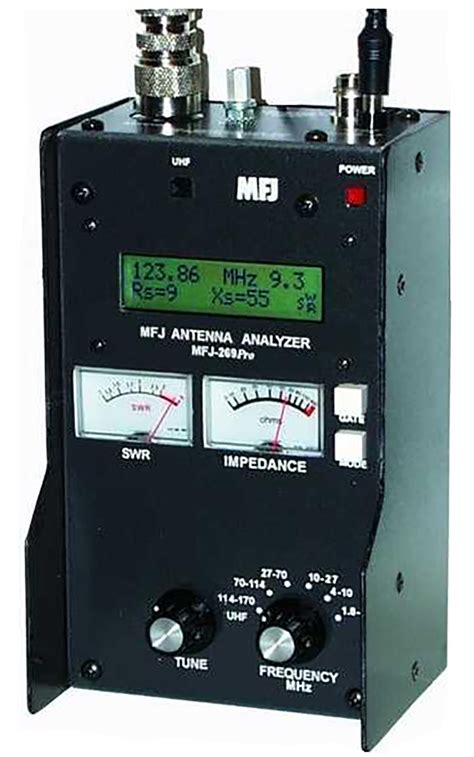mhz swr analyzer mfj mfj