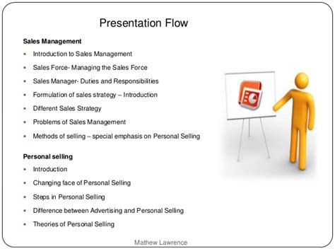 sales management personal selling