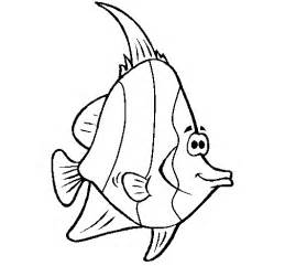 Free Coloring Pages Of Tropical Fish sketch template