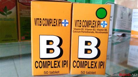Vitamin B1 Ipi tawarkan beragam manfaat vitamin b kompleks ipi dijual harga rp 4 ribuan kurs rupiah