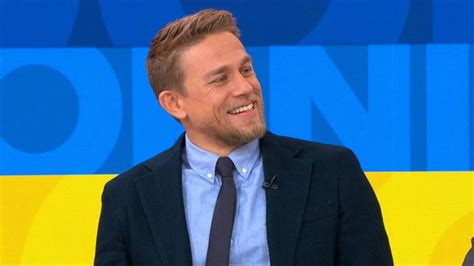 new guy on gma charlie hunnam gets surprised by king arthur director