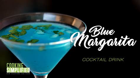 blue margarita blue margarita cocktail a restaurant style blue