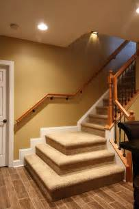 Basement Stairs Design Basement Stairs Traditional Staircase Dc Metro By Nvs Remodeling Design
