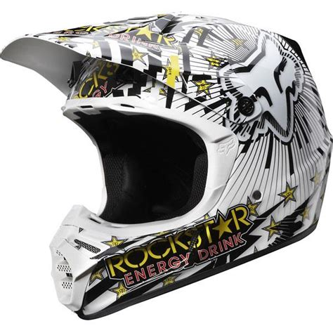 rockstar energy motocross helmet fox racing v3 ryan dungey rockstar energy replica