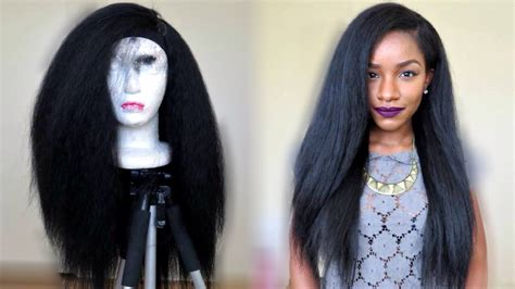 kinky perm straight by deja vu kinky straight hairstyle under 20 thebrilliantbeauty