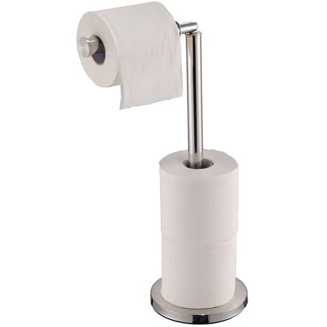 Toilet Paper Holder Stainless Steel Bathroom Floor Bathroom Toilet Paper Storage