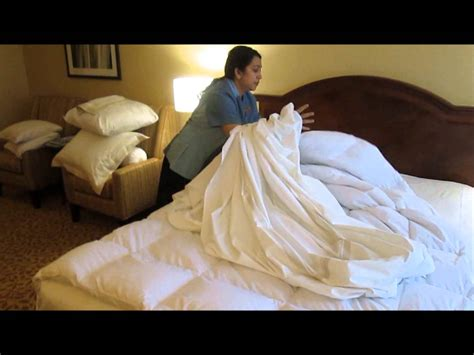making a bed vancouver airport marriott how to make the perfect bed