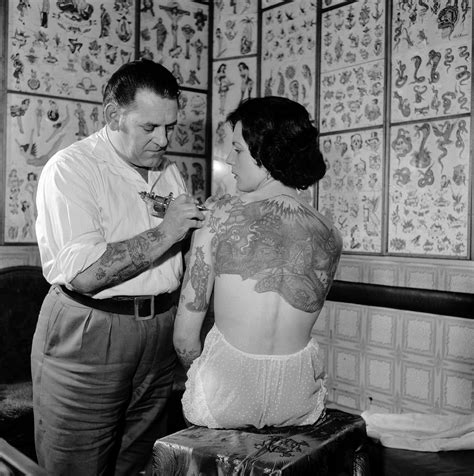 wonderful women with wicked tattoos 1900 2000 flashbak