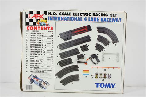 afx templates tomy team afx international race set 4 h o