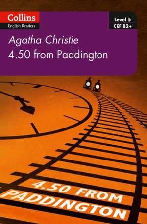 4 50 from paddington b2 collins agatha christie elt readers books cartea 4 50 from paddington collins agatha christie elt