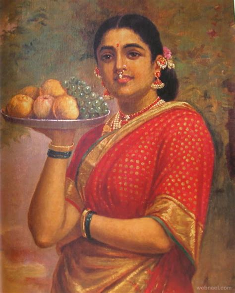 biography of artist raja ravi verma 25 best raja ravi varma paintings 18th century indian