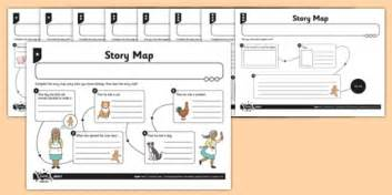 gingerbread story map template the gingerbread story map differentiated worksheet