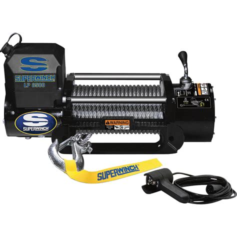 Resun Heavy Duty Ep 8000 superwinch 12 volt dc powered electric truck winch 8500