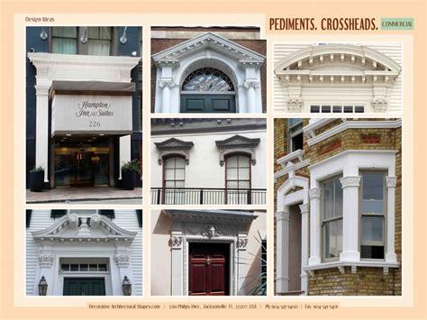 Architectural Pediment Design Windows And Doors Headers Gable Roof Design Pediment Cornices Royalfoam