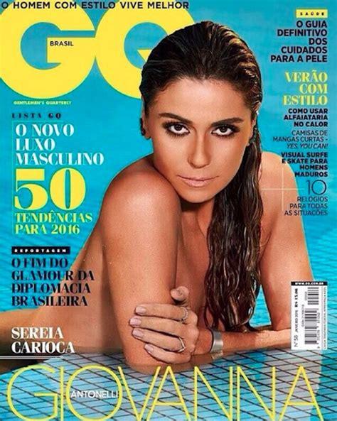 revista sexy brasil enero 2016 com quase 40 anos giovanna antonelli posa totalmente nua
