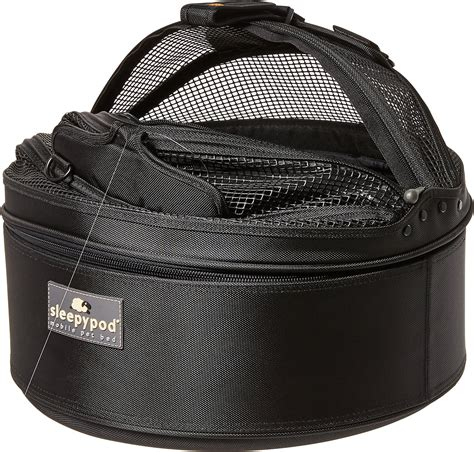 sleepypod mobile pet bed sleepypod mobile pet bed carrier jet black chewy com