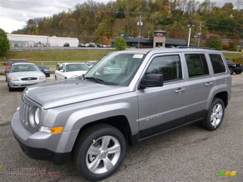 jeep patriot grey 2015 jeep patriot latitude 4x4 in billet silver metallic