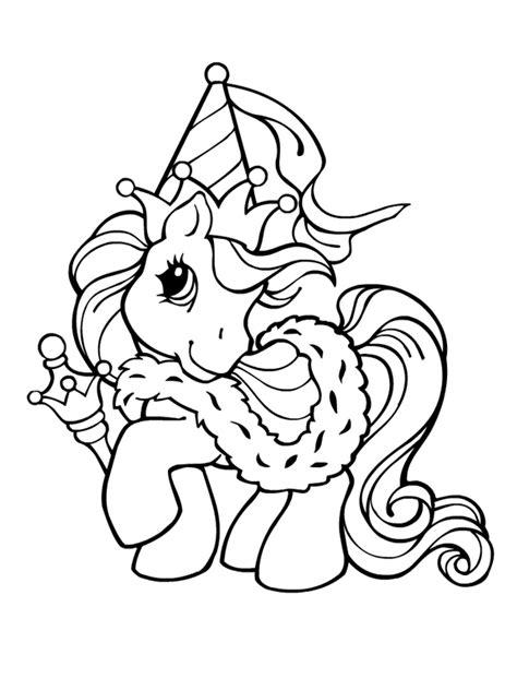 Petit Poney #131 (Dessins Animés) – Coloriages à imprimer