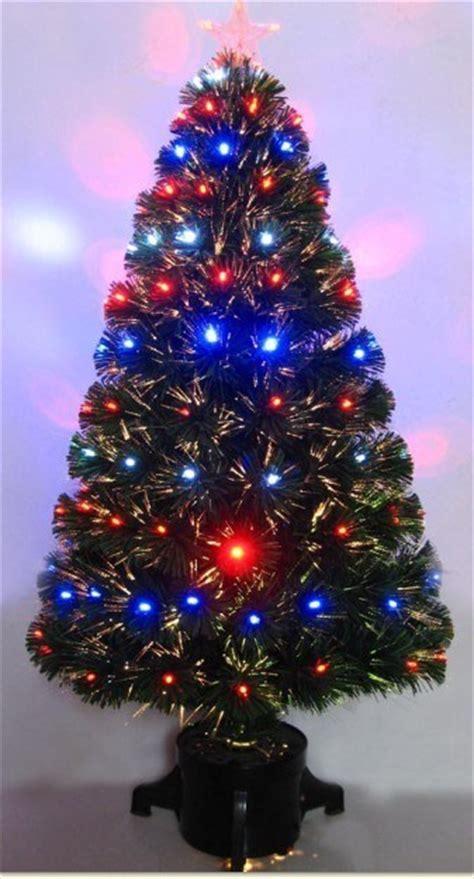 china changing clour led fiber optic christmas trees