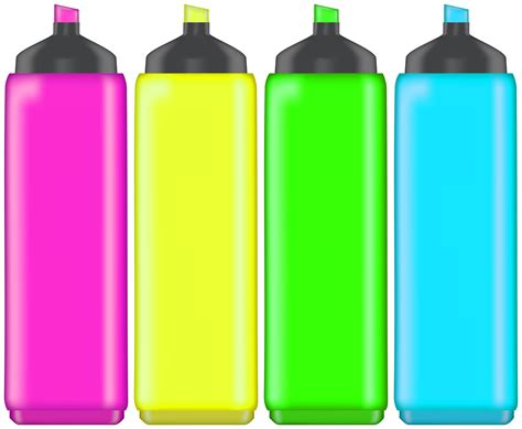 highlight markers png clip art  web clipart