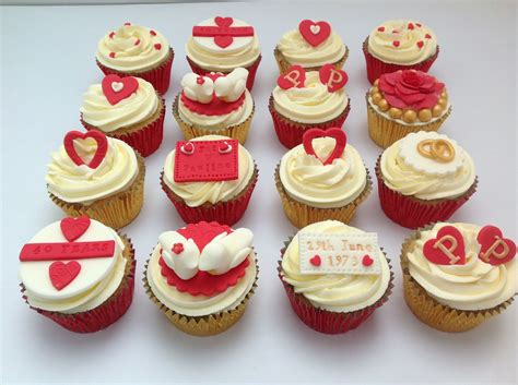 Cupcake Wedding Anniversary 30 amazing anniversary cupcakes