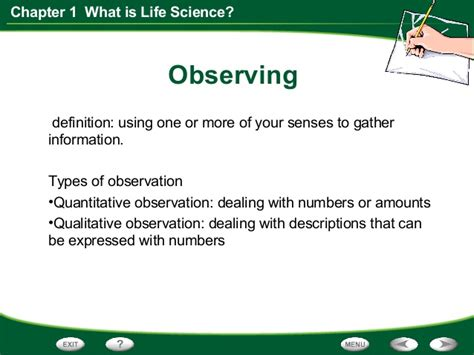 biography definition in science life science chapter 1 section 1 think like a scientist