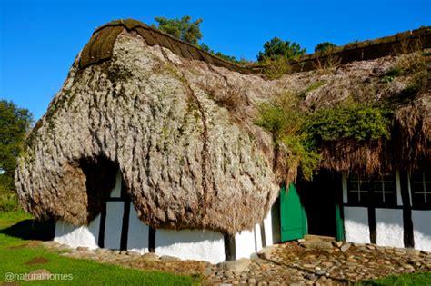 The seaweed homes of Læsø, Denmark