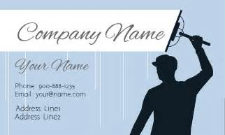 window cleaning business cards blue window cleaning business card design 1303011