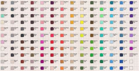 prismacolor marker color chart sanford prismacolor color chart by josephine9606 on deviantart