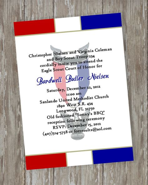 eagle scout invitation template eagle scout invitations invitations ideas