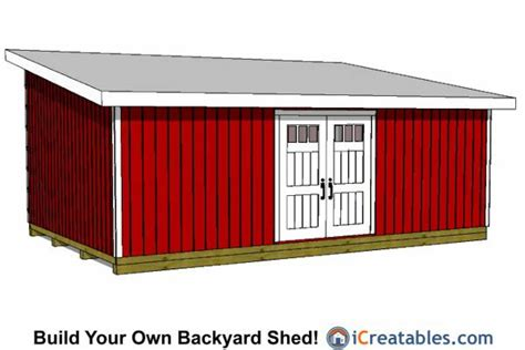 dan ini free plans for 16x24 shed 16x24 lean to shed plans