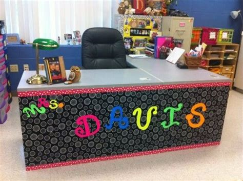 how to decorate a desk make an desk a one my classroom style