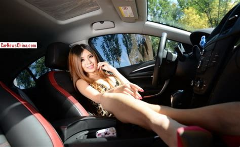 buick ad girl unlock doors chinese tiger girl growls all over a buick regal gs