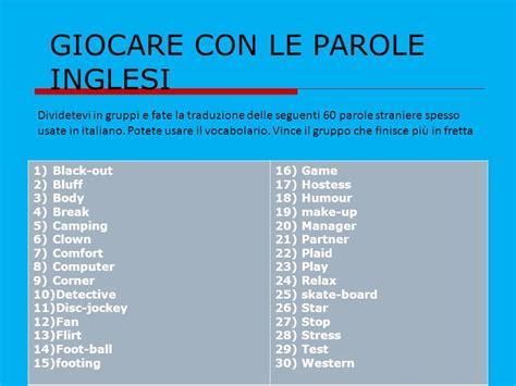 Parole Francesi Usate In Italia by Step 1 Conoscere I Prestiti Dall Italiano Alle Altre