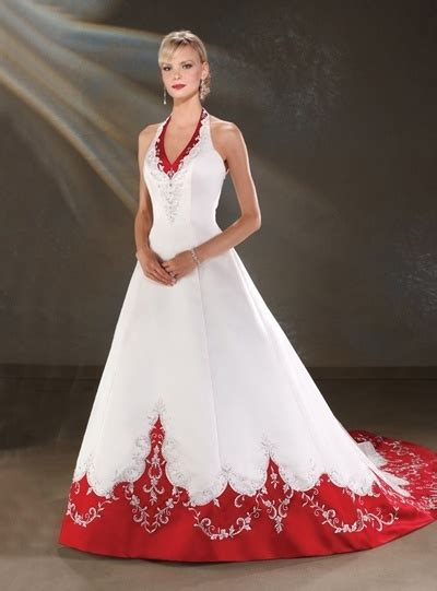 colorful bridal gowns color accents bridal gown