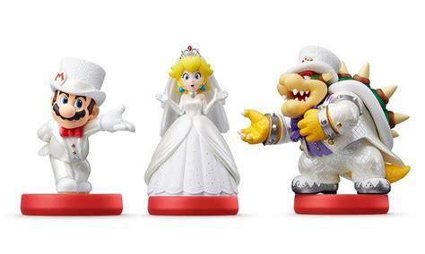 Amiibo Bowser Mario Odyssey Series pre order mario odyssey series amiibo figure wedding groupon