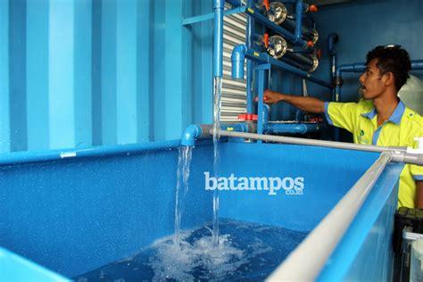 Air 2 Batam batam berhasil ubah air limbah jadi air bersih batos co id