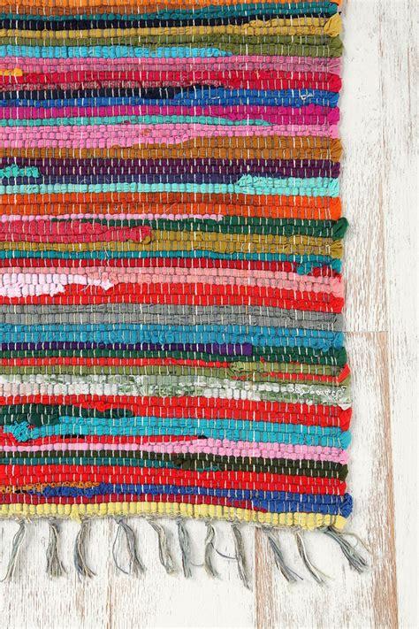 rainbow rag rug rainbow handmade rag rug outfitters