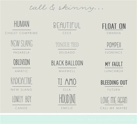 dafont the skinny tall skinny fonts design pinterest fonts creative